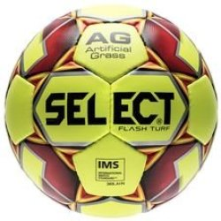 Select Ballon Flash Turf Herbe Synthétique Jaune Rouge