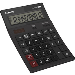 Canon Calculatrice simple AS 1200