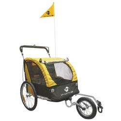 M Wave Carry All 3 in 1 20 pouces Unisexe Jaune