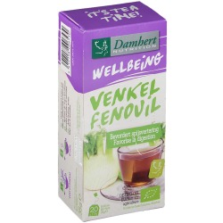 Damhert Wellbeing Thé Fenouil