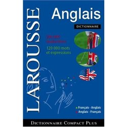 Larousse French english Dictionary Compact Plus Francais anglais