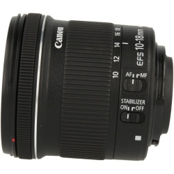 Canon EF S 10 18mm 1 4.5 5.6 IS STM noir comme neuf