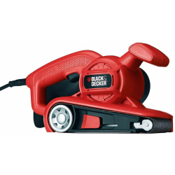 Black Decker KA86 Ponceuse à bande 75x457mm 720W
