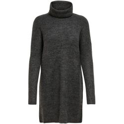 ONLY Longue Robe En Maille Women Grey