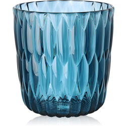 KARTELL vase JELLY (Bleu PMMA transparent)