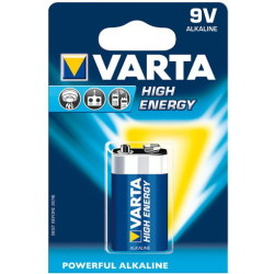 Piles alcalines Varta High Energy 9 V