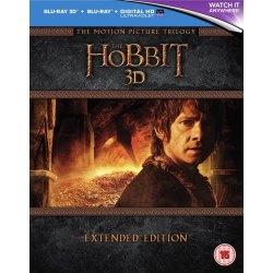 The Hobbit Trilogy 3D Extended Edition