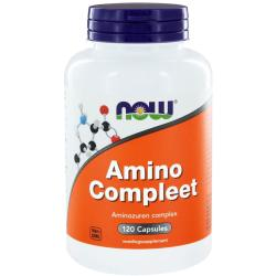 Compleet amino (120 capsules) Now Foods