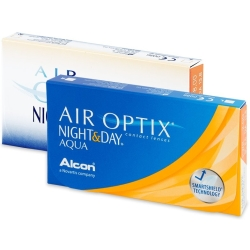 Air Optix Night and Day Aqua (3 lentilles)