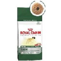 Mini light weight care Royal Canin croquettes chien.