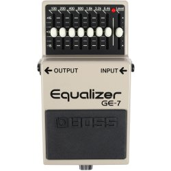 Boss GE 7 pédale Graphic Equalizer