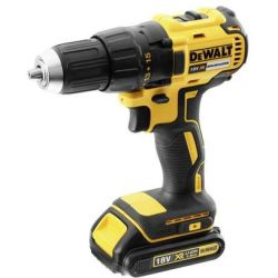 DeWalt Perceuse visseuse à batterie 18V XR 2x1.5Ah Li Ion Brushless 65 Nm 13 mm avec coffret