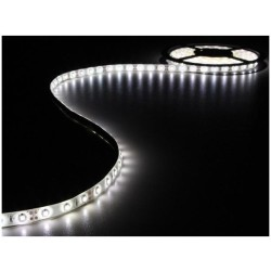 ENSEMBLE DE BANDE A LED FLEXIBLE ET ALIMENTATION BLANC FROID 180 LED 3 m 12 VCC LEDS14W VELLEMAN