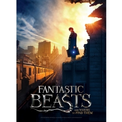 Poster Puzzle Fantastic Beasts New York