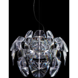 Suspension Hope Ø 61 cm Luceplan transparent en matière plastique