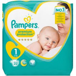 Pampers Premium Protection Taille 1 2 5 kg Couches