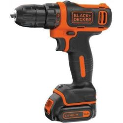 Perceuse visseuse compacte pile lithium 10. 8v bdcdd12k qw BLACK DECKER