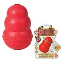 Kong Taille XL pour Chiens Rouge