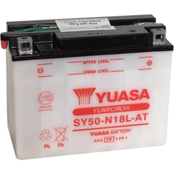 YUASA Batterie Yumicron moto scooter SY50 N18L AT