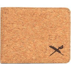 Iriedaily Cork Flag Wallet marron