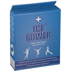 Ice Power Cold Hot Pack Housse 28x14cm