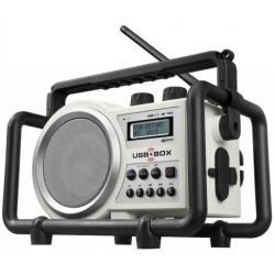 Perfect Pro Radio de chantier 5 Watts (USB SD Mp3) 4 pies rechargeables USBBOX 2